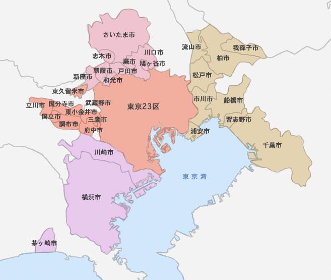 リフォーム対象エリア地図